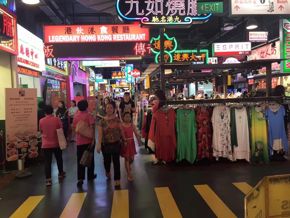 Legendary Hong Kong Jurong Point MK street near Boon Lay MRT  Neon lit billboards draping along the whole stretch, the first and only 'street' in Singapore made to resemble those of Ho…