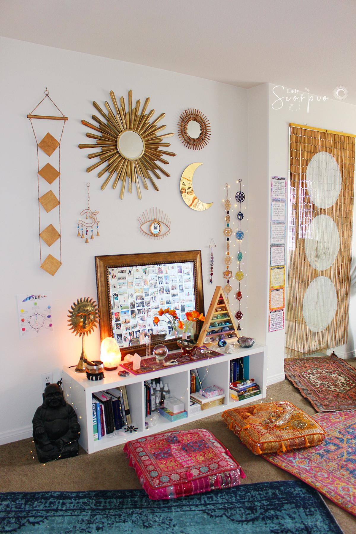 Chakra Awakening Wall Hanging Meditation Room Home Decor Decor