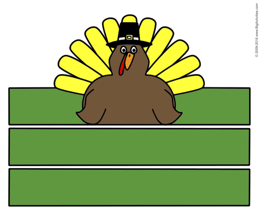 Tons (170+) of FREE Thanksgiving Printables, Coloring Pages ...