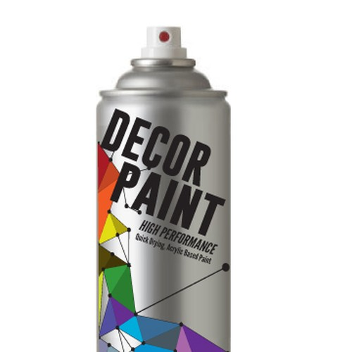 Product Label Design For Aerosol Spray Paint Can Product Aerosol Spray Paint Label Design Spray Paint Cans