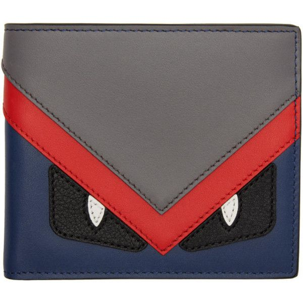 a7d15c49cc8c Fendi Multicolor Bag Bugs Wallet ( 475) ❤ liked on Polyvore featuring men s  fashion