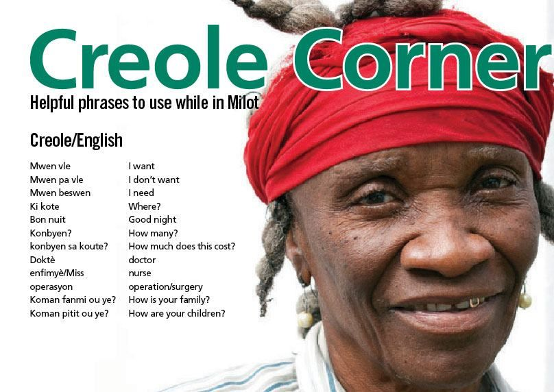 Helpful Creole phrases to use while you are in Milot ...