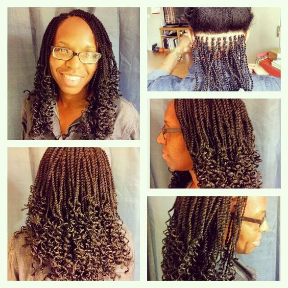 Pin By Maria Wiblin On Hairstyles Hair Styles Kinky Kinky Twist