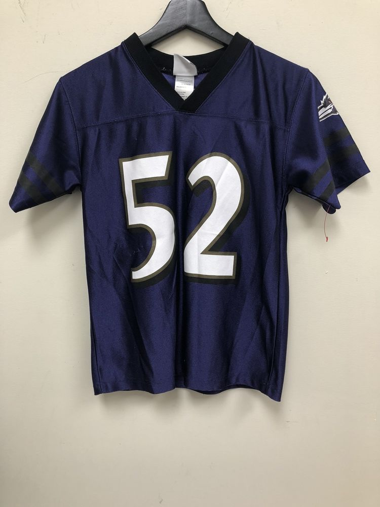 best website b605f 0f43a NFL Reebok Baltimore Ravens Ray Lewis Kids Jersey Size M ...