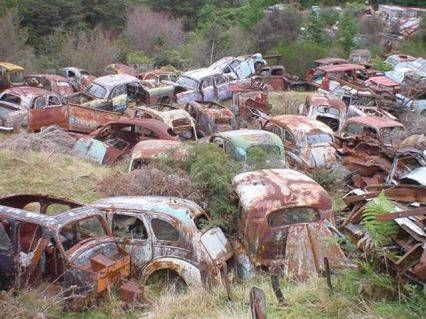 Classic Car Junk Yards Oregon | History Old Time Junk Yard Photos PIX 1920 to 1970 - Page 16 - THE H.A ...