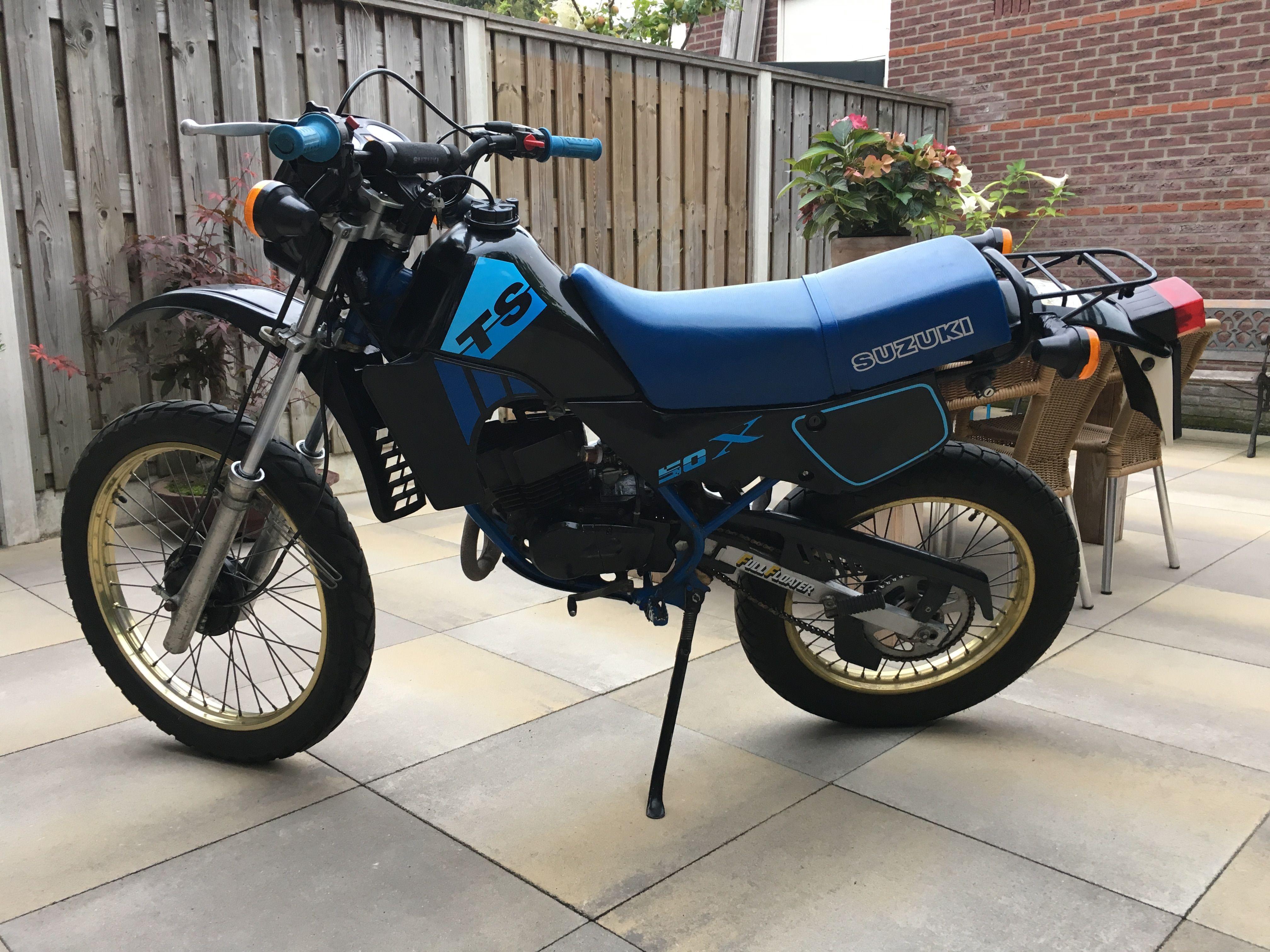 Suzuki TSX 50 klassieke bromfiets