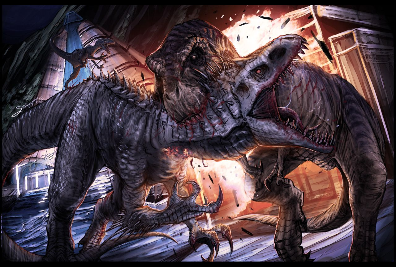 jurassiraptor Clash of the Titans by SeanSumagaysay