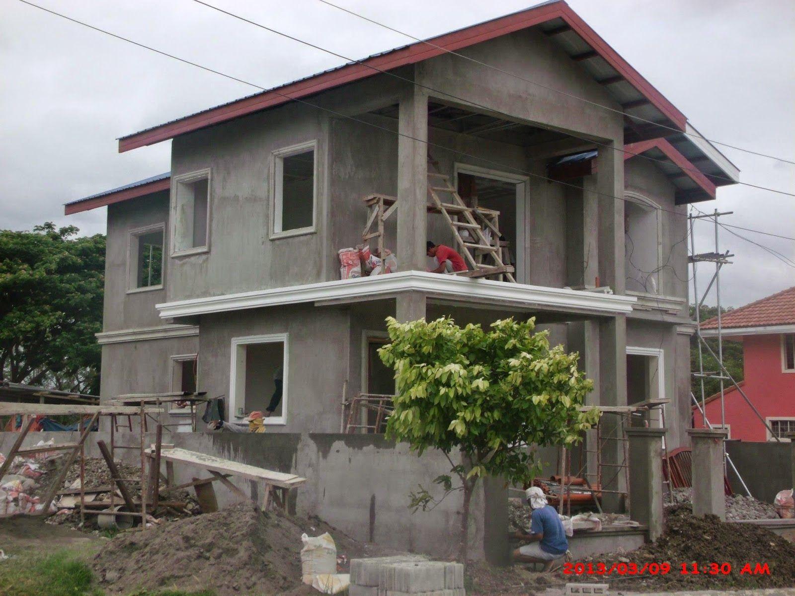 2 storey house model philippines | House style | Pinterest ...