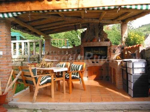 Grismarengo cocinas exterior pinterest for Cocina barbacoa exterior