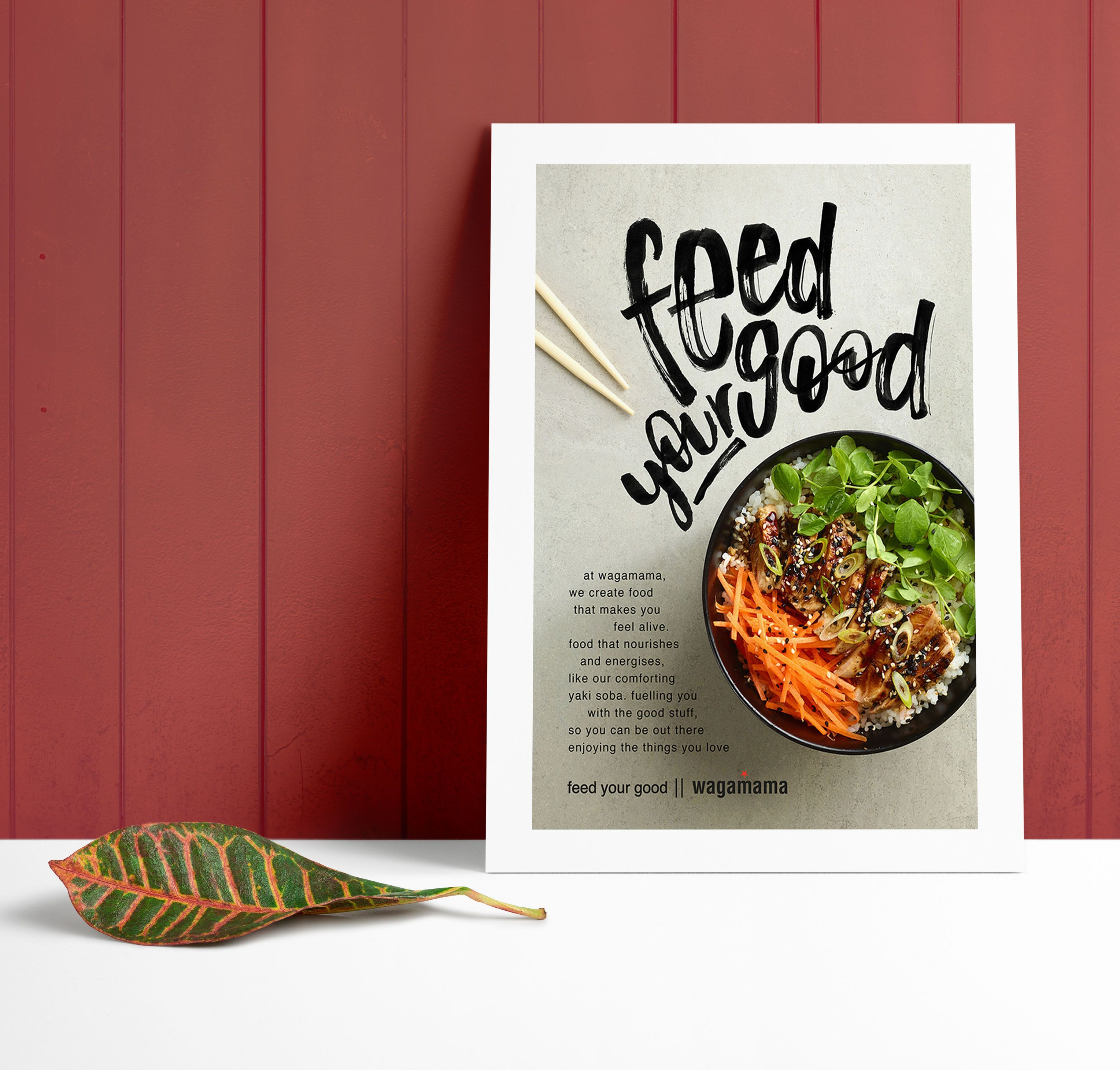 Modern Handwritten Restaurant Flyer Idea - Venngage Flyer ...