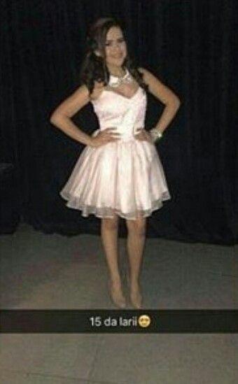 Vestido Das Debutantes Da Festa De 15 Anos Da Larissa Manoela  SonhosDeLari 8d1d0e4bc1