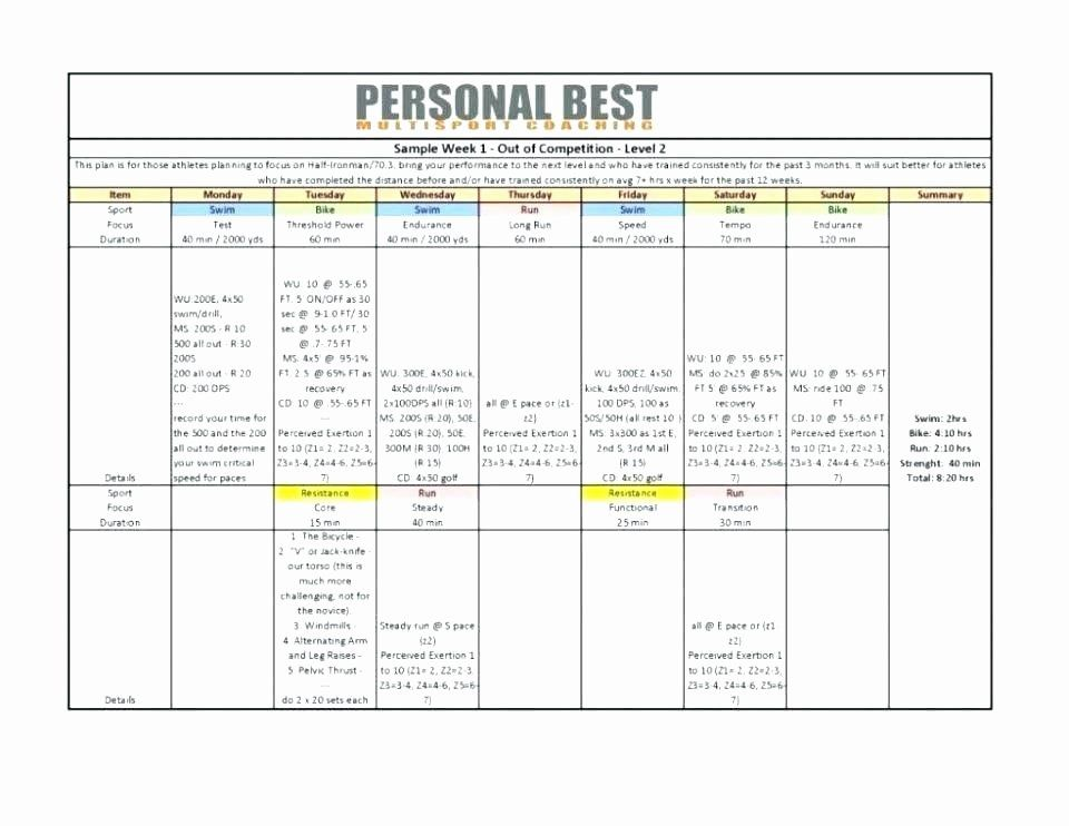 40 Football Session Plan Template in 2020 Business plan