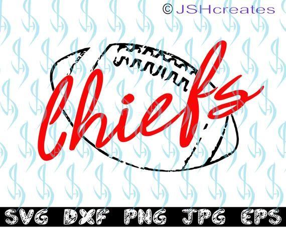 Chiefs svg, Chiefs, football svg, football, Footba