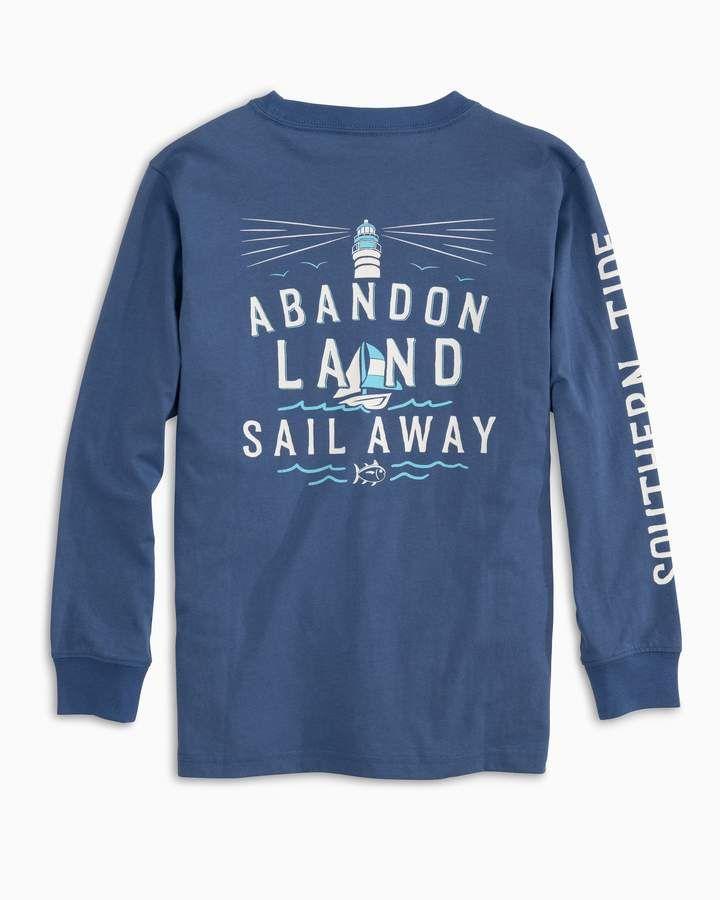 d011ae88d23b Kids Abandon Land Long Sleeve T-shirt - Garnet Rose / S in 2019 ...