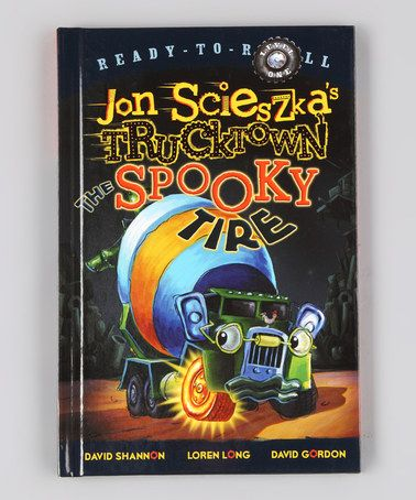 The Spooky Tire Hardcover by Frightfully Fun: Books