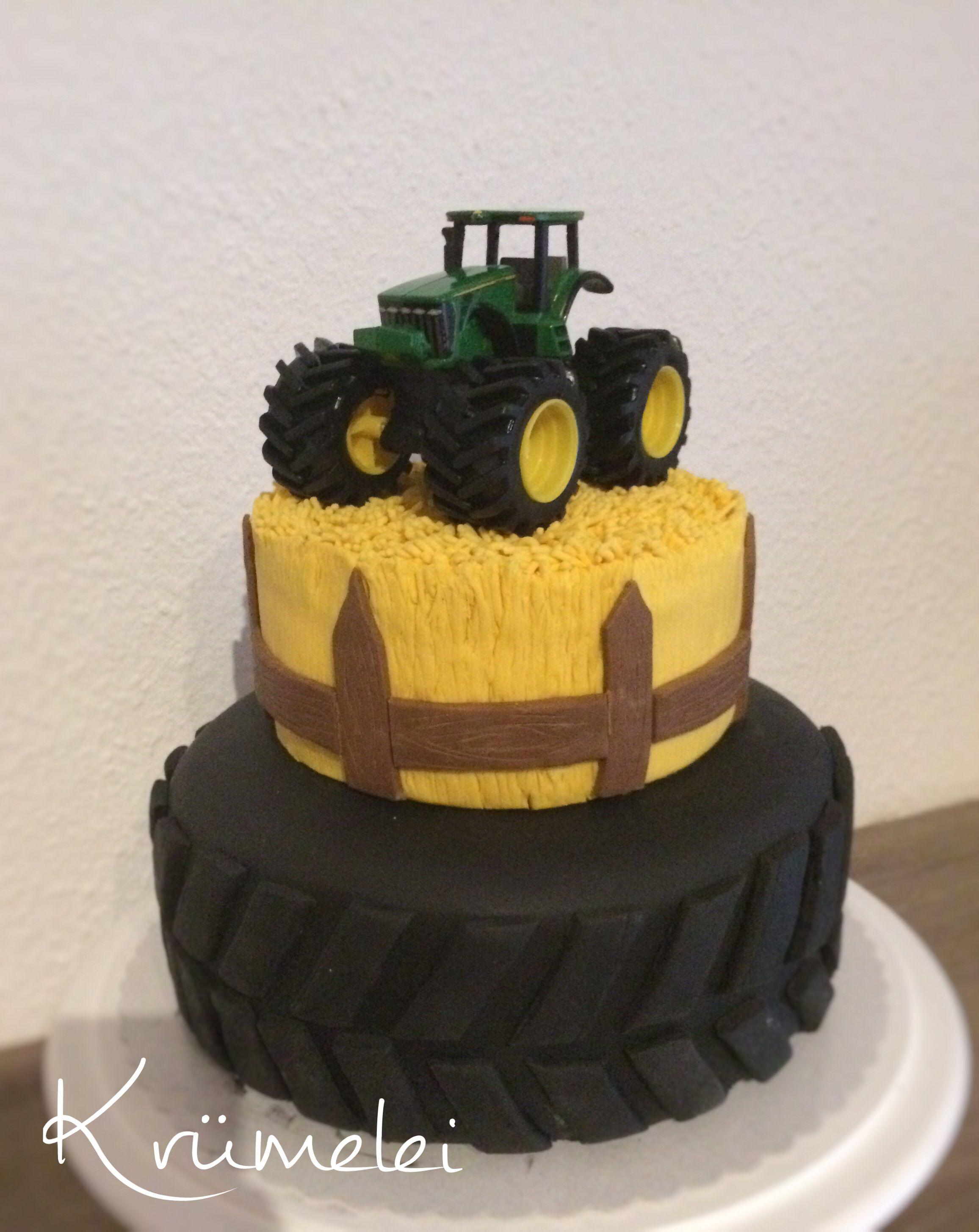 Traktor Torte Zur Kommunion Cake Cake Frosting Desserts
