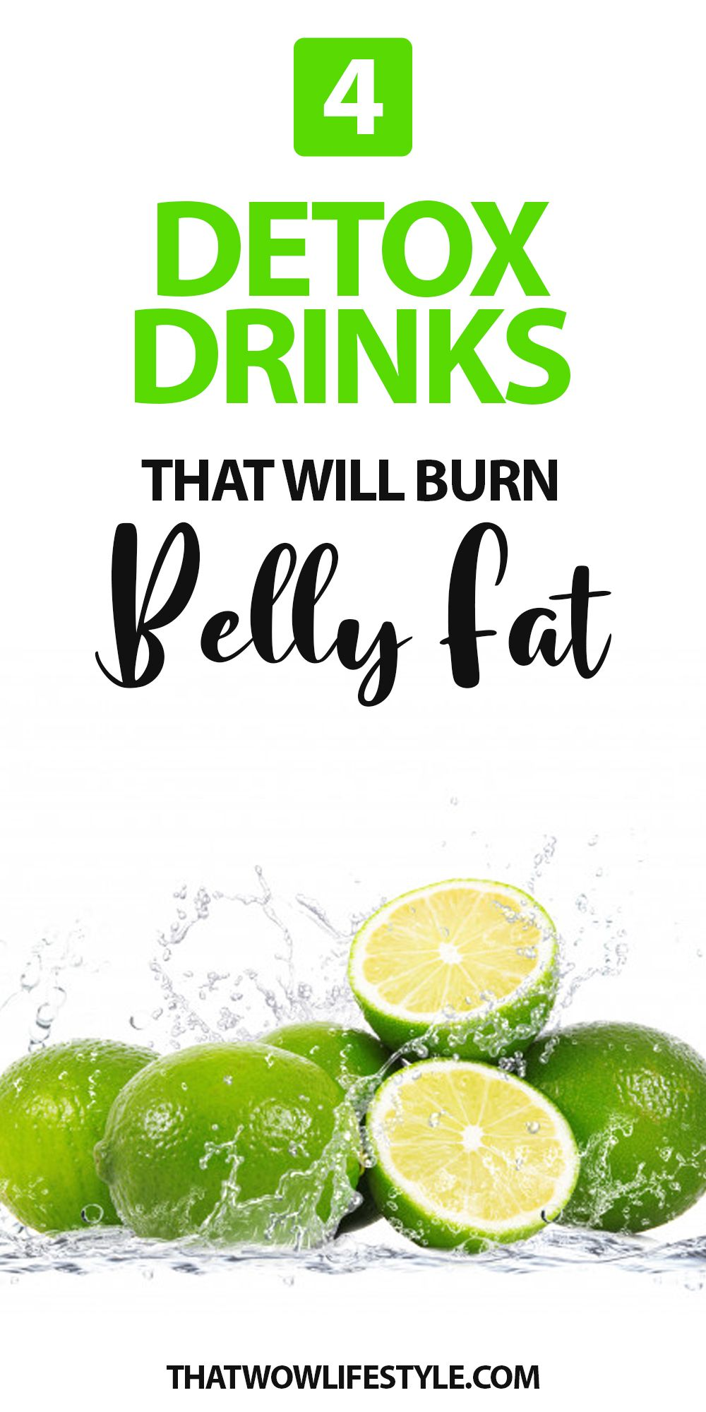 4 Detox Drinks That Will Burn Belly Fat