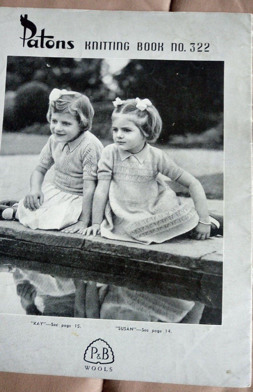 65b84890651e Children s Patons vintage knitting pattern book   322 • AUD 4.99 - PicClick  AU