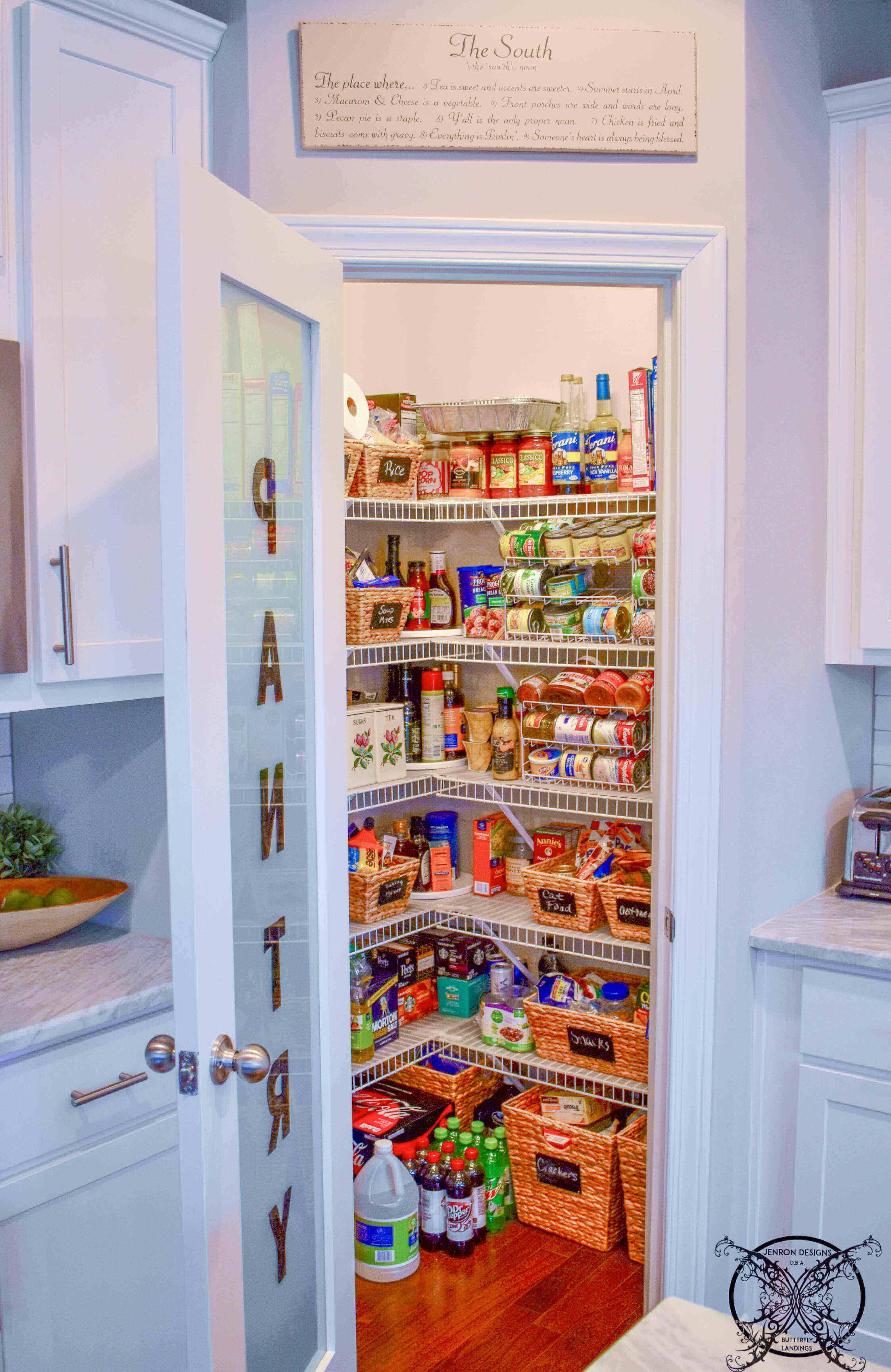 17 Awesome Pantry Shelving Ideas To Make Your Pantry More Organized Farmhouse Pantry Small Pantry Closet Corner Pantry Organization