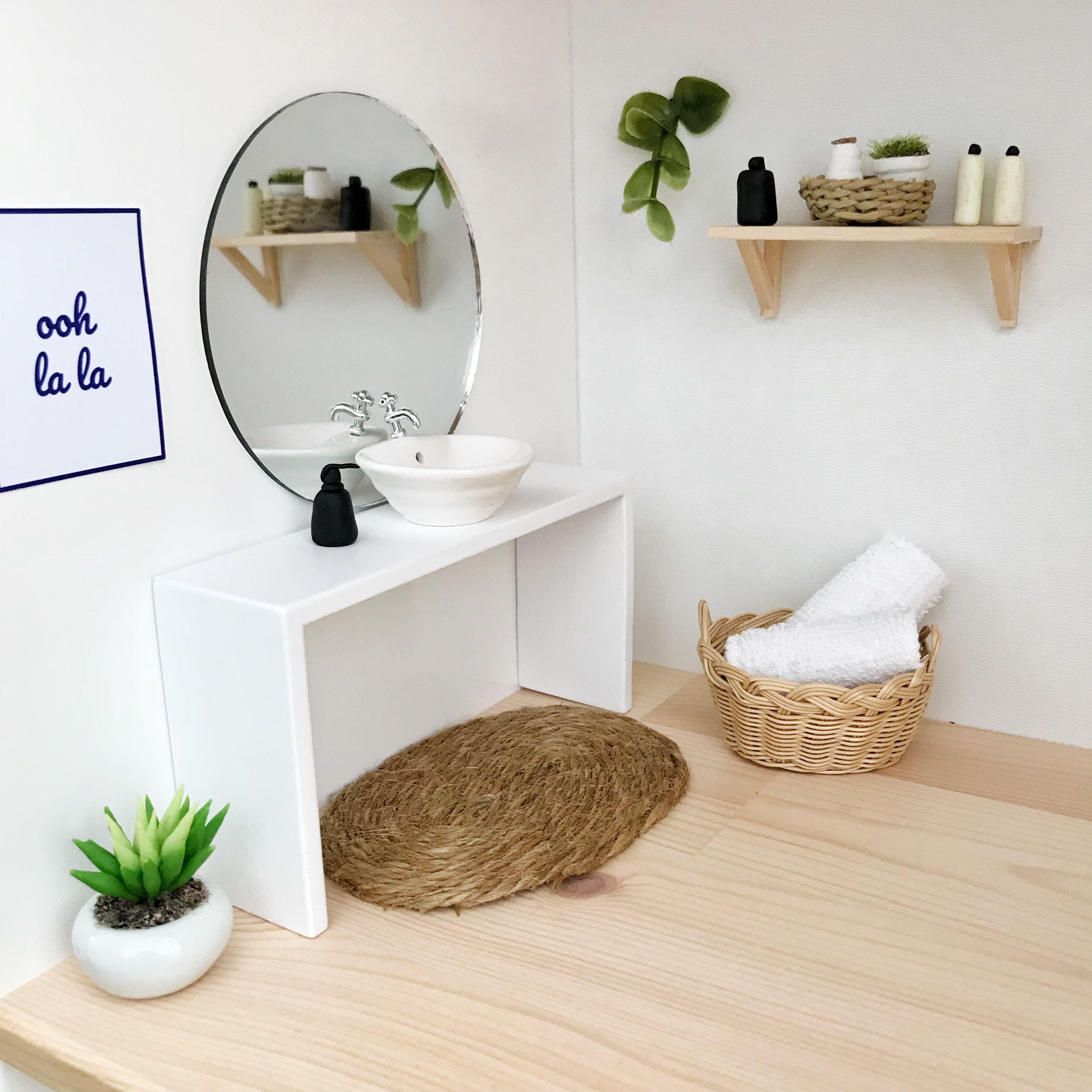 Pretty Little Minis - modern dollhouse furniture and decor for sale #dollhousefurniture
