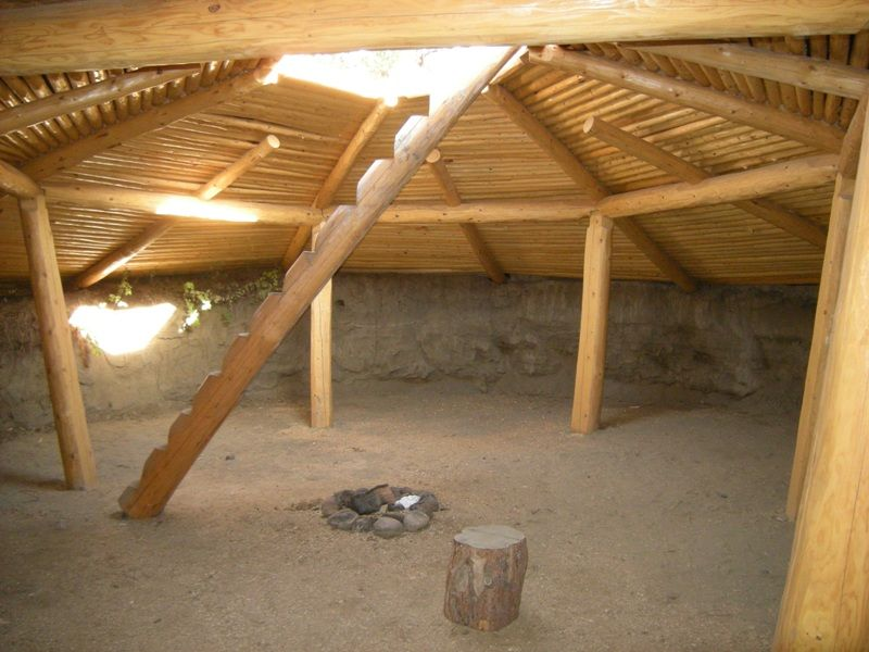Traditional Secwepemc Pit House Winter House Traditional
