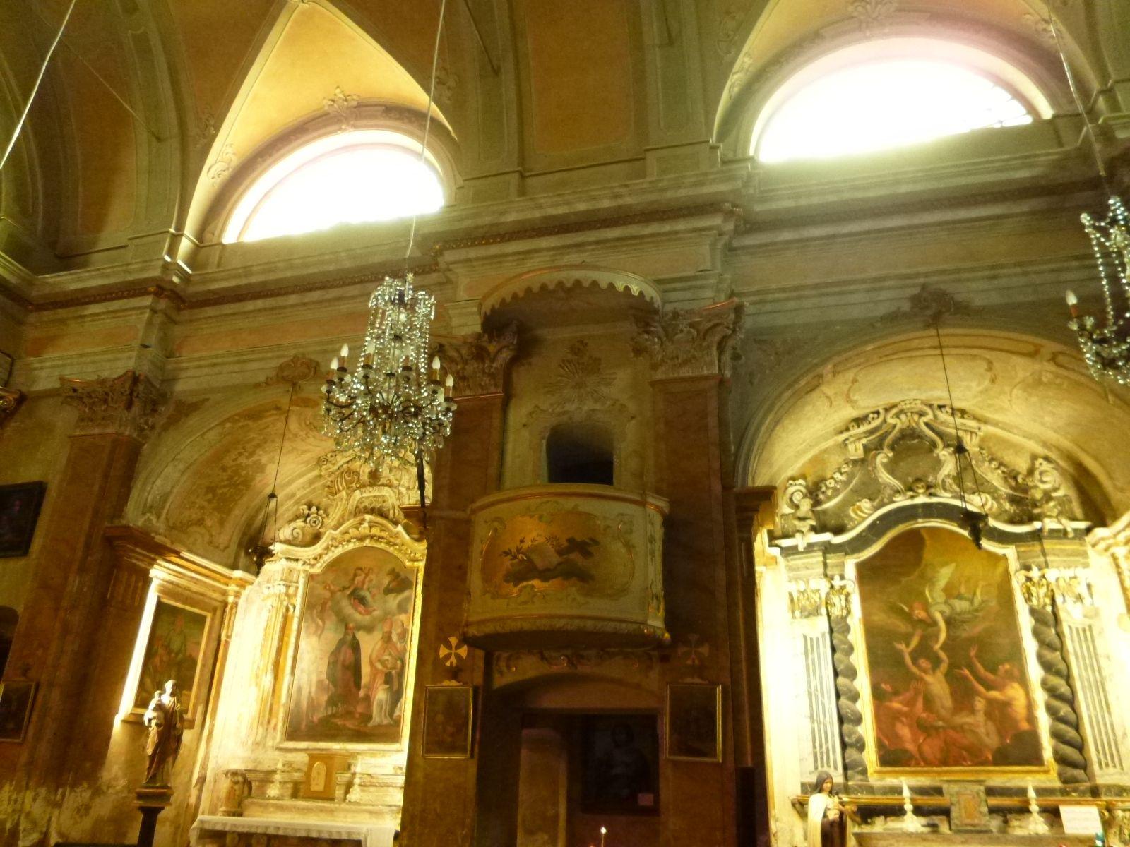 """""""Eglise Notre Dame de I'Assomption""""(Chiesa), Eze, France (Marzo)"""