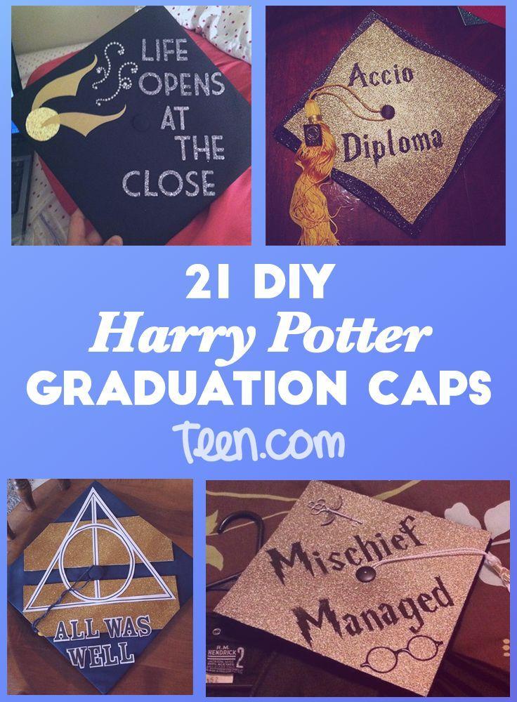 Yay Harry Potter Grad Cap Grad Cap Cap Decorations
