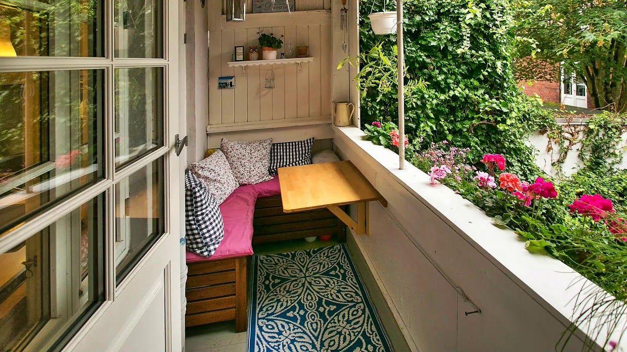 Small Tiny And Micro Balcony Design Ideas Apartment Balcony