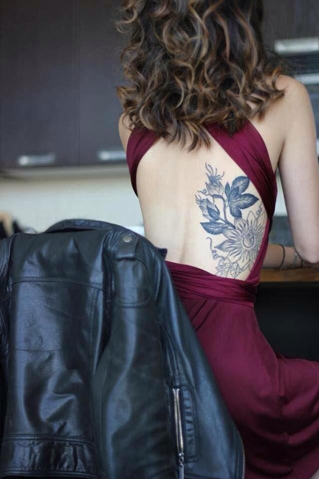 Joli Tatouage Discret Dos Femme Grande Classe Ink It Tatouage