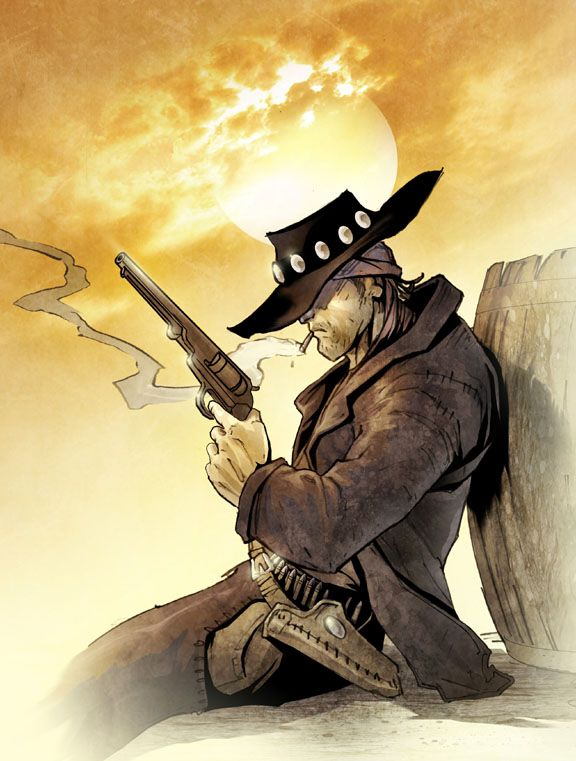 Outlaws & Gunslingers-The Growth of American Heroes In Times