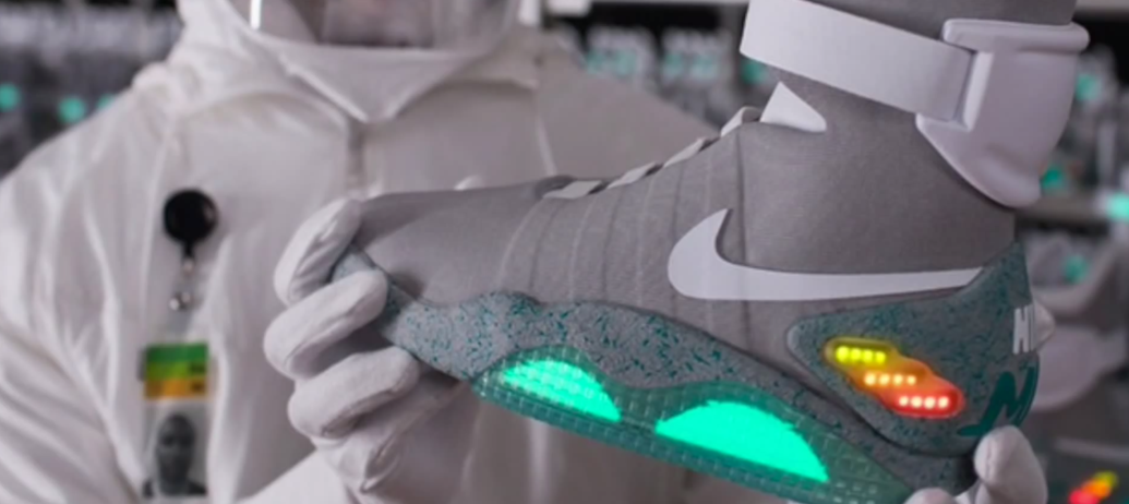 Nike Confirms Work on  Back to the Future 2  Self-Tying Shoe  88e2f3910