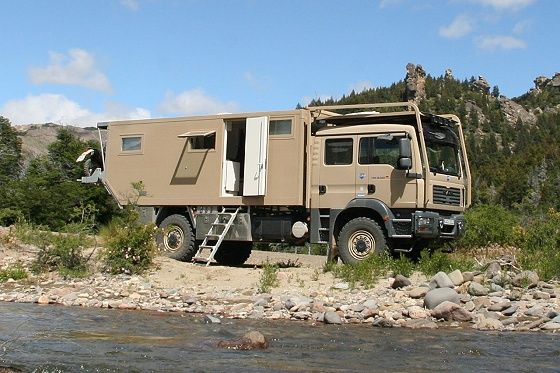 MAN \'Unicat\' cross-country camper | Cars, motorcycles etc ...