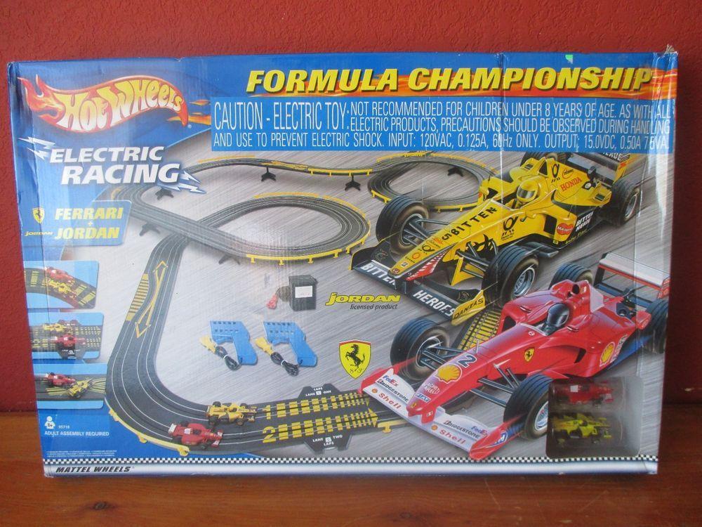 Hot Wheels Formula Championship Electric Racing Hotwheels
