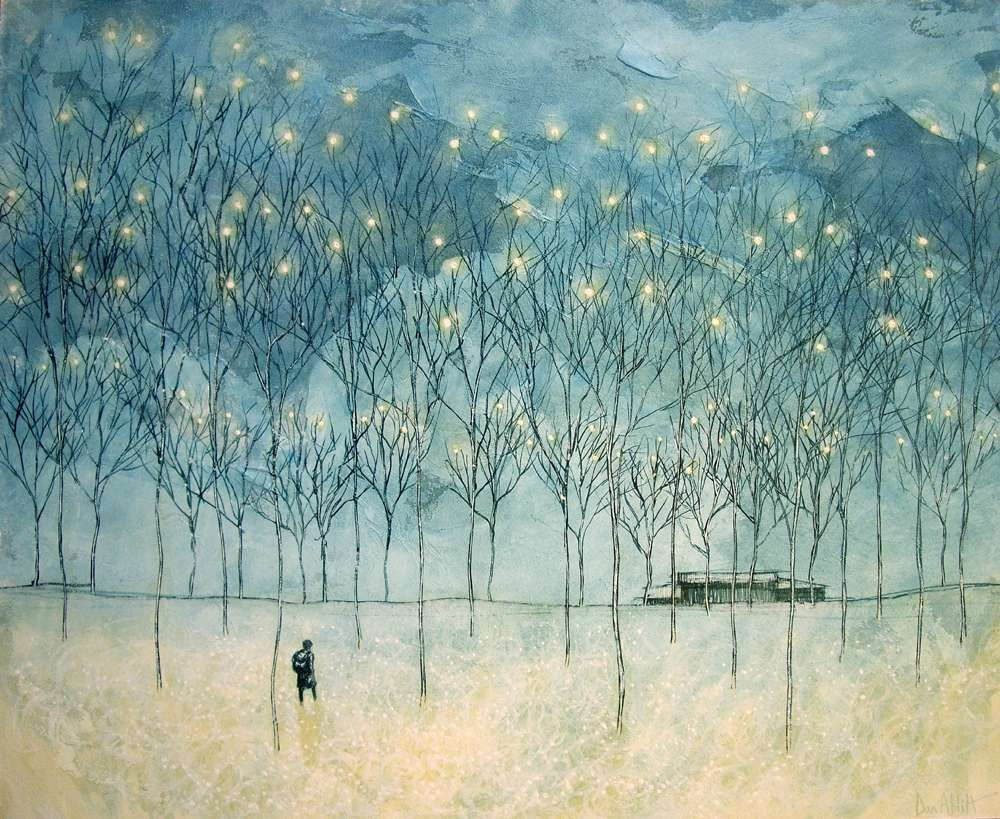 The serene forested landscapes by Daniel ablitt