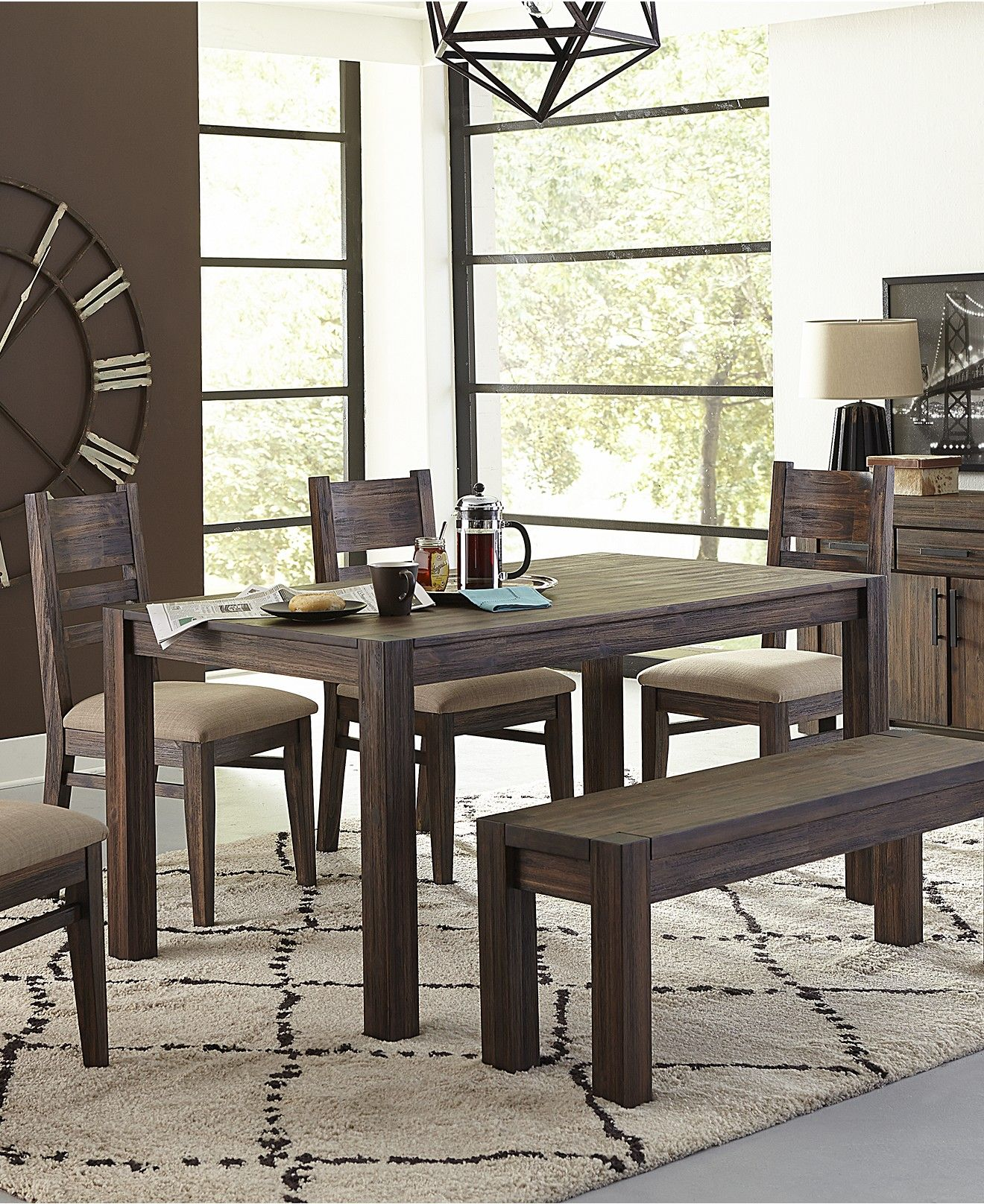 6 Piece Kitchen Table Sets Professional Equipment Avondale Pc Dining Room Set Created For Macy 39s 60