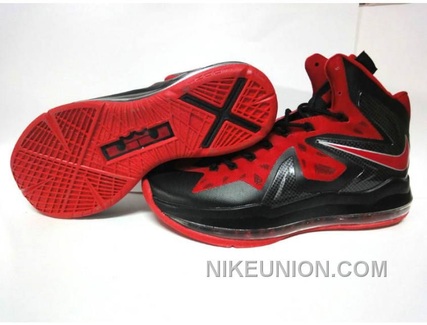sports shoes bf611 7727f an aesthetic appreciation of the Nike LeBron X Elite Anthracite Sport Red  Bright Crimson