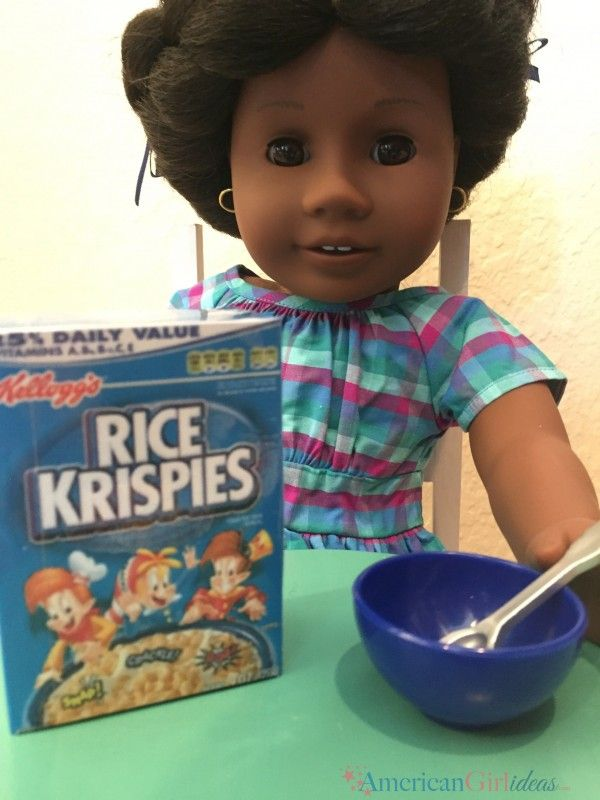 American girl cereal boxes american giel printables pinterest american girl cereal boxes i have noticed lately when my kids play in one of their dollhouses they stay in one room for a few days sometimes their dolls ccuart Choice Image