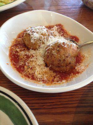 Olive Garden Chicken Meatballs Yum Yummy Food Pinterest Chicken Meatballs Olive Gardens