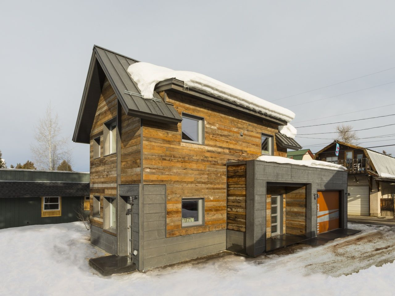 This small 2 bedroom house in Steamboat