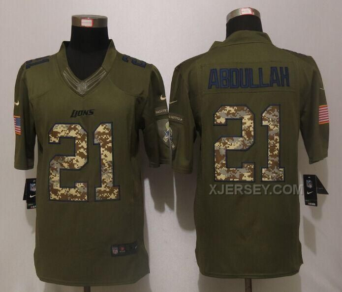 cf8500530 ... reduced limited olive 2017 salute to service nfl jersey httpxjerseynike  lions 21 ameer abdullah green mens
