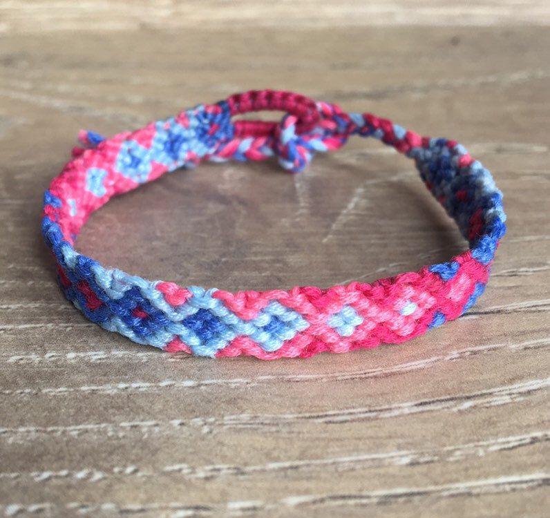 Mother/'s Day Gift Pink Waterproof Bracelets Blue Bracelet Set Purple Teen Gift Personalized Gifts Wax Cord Bracelet Set