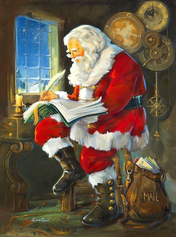 "Susan Comish - ""Santa's Book of Children"""