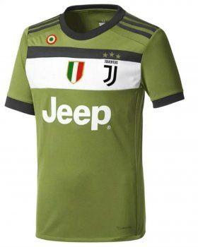 2017 Cheap Jersey Juventus 3rd Replica Green Shirt | 2017 Juventus ...