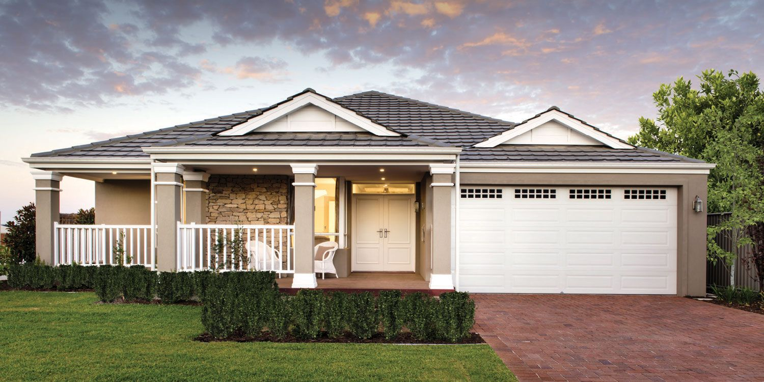 The new hampton four bed hampton style home design for Home designs western australia