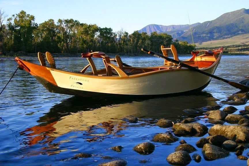 Fly fishing traditions kingfisher drift boat build the for Drift boat fishing