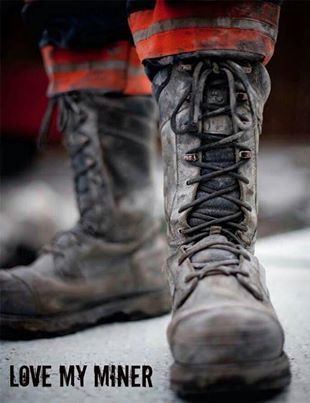1c7e94cede6 Love my miner! Boots | COAL KEEPS THE LIGHTS ON! | Coal miners wife ...