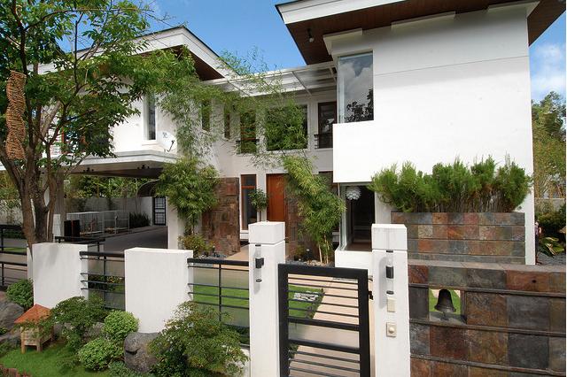 Modern Asian Philippines House Design Zen House Design Dream House Exterior