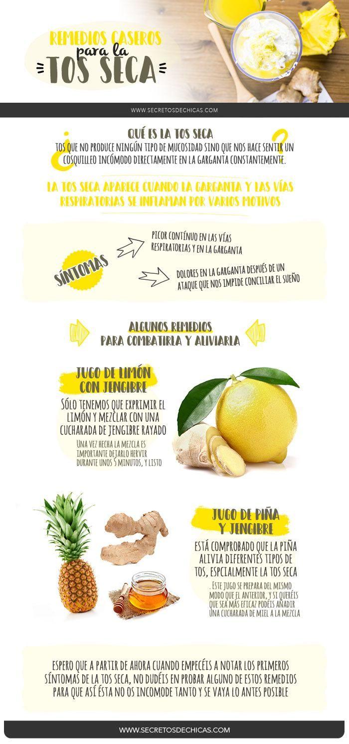 remedio eficaz para la tos seca