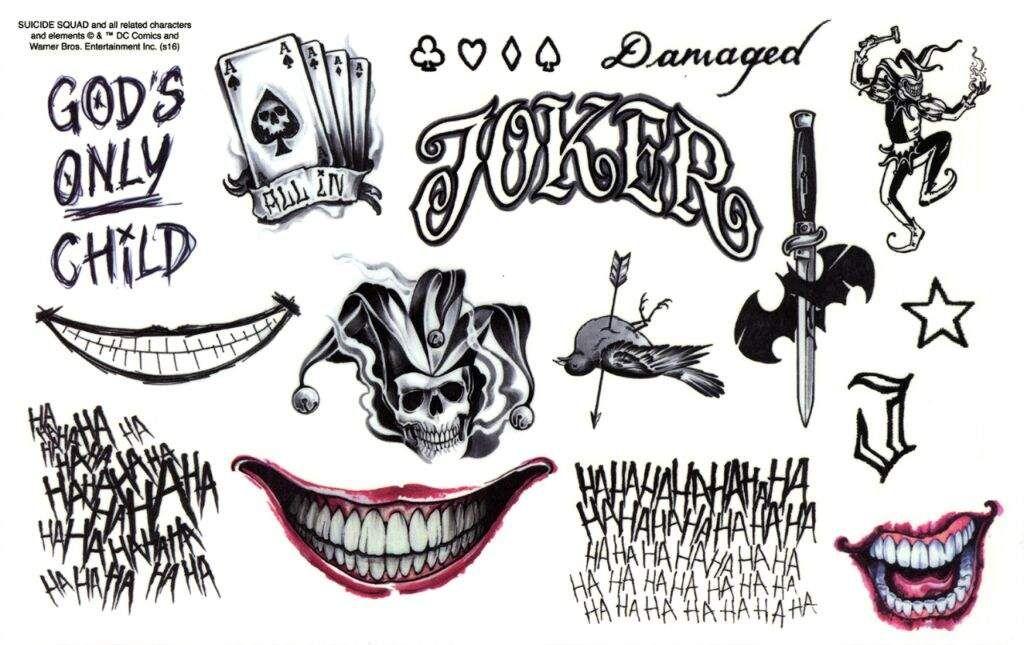 tatuajes del joker