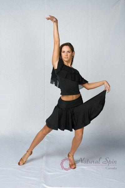 Natural Spin Dancewear Latin Skirt:  L08002